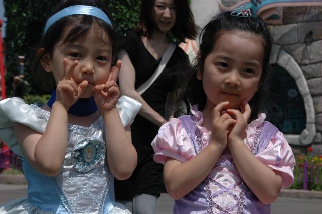 17 Princesses for a day at Disneyland. Photo © Briar Jensen