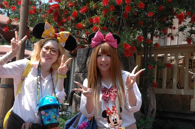 Dashing Disneyland Fashions - at Tokyo Disney Resort