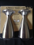 Twin pack alfresco touch lamps