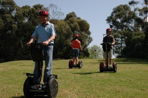 04 Segways are a thrilling way to get around. Photo Briar Jensen.