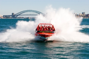 Oz Jet Sydney Harbour Bridge