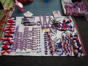 Patriotic merchandise for sale