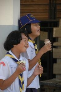 School girls in Koh Yao Yai