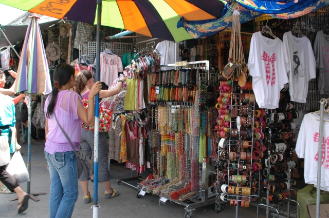 Chatuchak weekend market. Photo Briar Jensen.