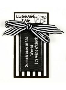 Cobwebs Luggage Tag