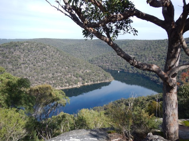 Smiths Creek, a tributary of Cowan Water, itself a tributary of the Hawkesbury River