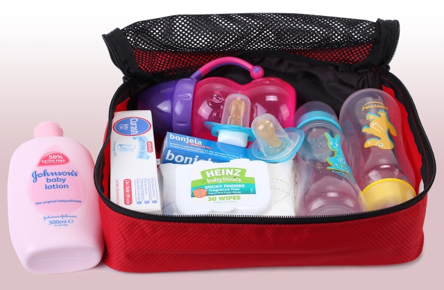 Keep children's essentials all together.