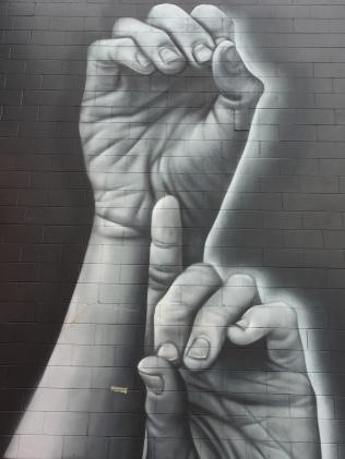 Graffiato artist Owen Dippie