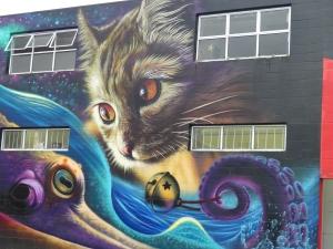 Graffiato mural
