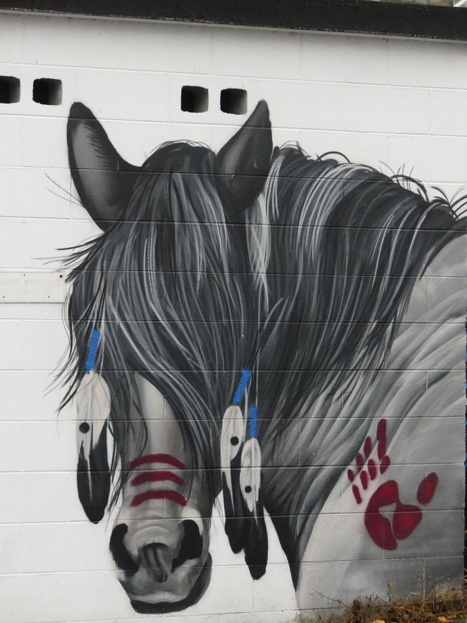 Graffiato street art by Odjobs