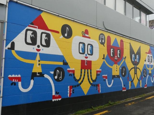 Graffiato street art by Beck Wheeler