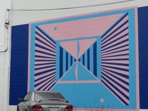 Graffiato mural by MIN