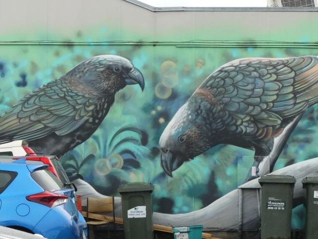 Graffiato street art by Jeremy Shirley