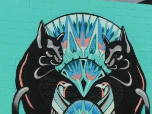 Graffiato mural Mica Still