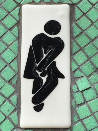 Toilet sign women
