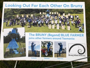 Beyond Blue Farmer launch on Bruny