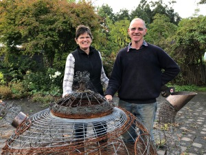 Gretja Van Randen and Keith Smith